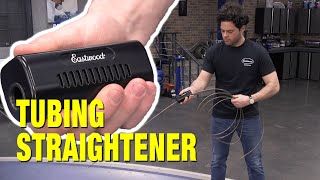 How to Straighten Coils of Brake, Transmission and Fuel Line - THE EASIEST WAY! Eastwood