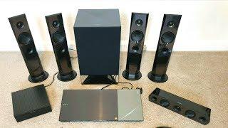 Sony BDV-N7200W 1200watt  3D 5.1 HOME THEATRE REVIEW/SOUND TEST ( High Resolution Audio)