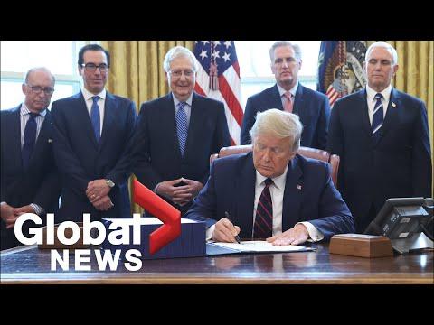 Coronavirus Outbreak: Trump Signs $2 Trillion COVID-19 Relief Bill Into Law