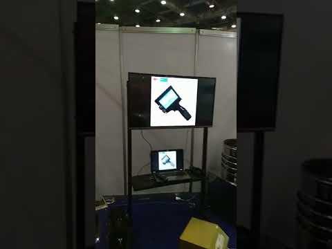M7 Portable Handheld Ink Jet Printer in Overseas Exhibition