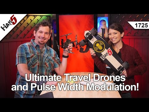 Ultimate Travel Drones and Pulse Width Modulation!, Hak5 1725