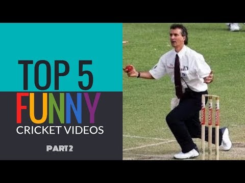 Top 5 - Cricket's Funniest moments (Updated 2016) - Part 2   SIMBLY CHUMMA 127