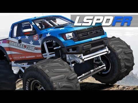 LSPDFR E159 - Ford Raptor Monster Truck | Chase Me