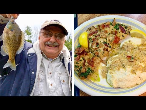 Angling for Fish in Cajun Mustard Cream Sauce