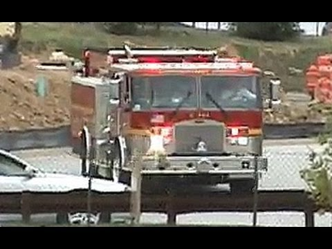 Fire Dept Responding to Call at Walmart - YouTube