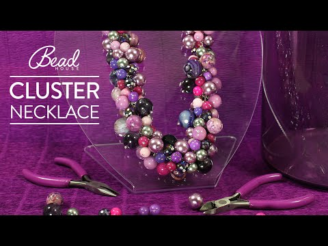 Learn How-To Make A Cluster Necklace with Natalia - Bead House