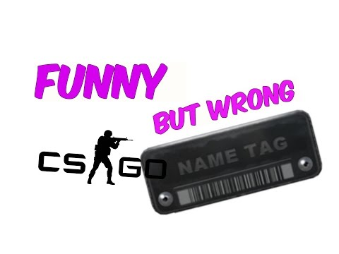 CSGO Funny Name Tags #3 OVER 35 NAMES! Special Episode