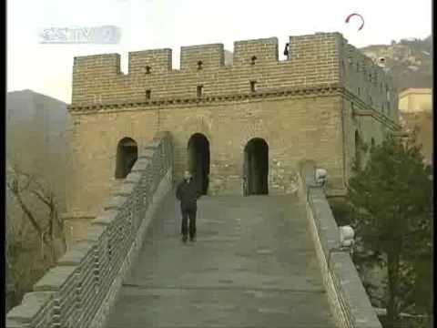 Obama at the Great Wall of China - CCTV 091118