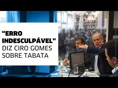 "Ciro Gomes sobre voto de Tabata Amaral na Reforma da Previdência: ""Erro indesculpável"""