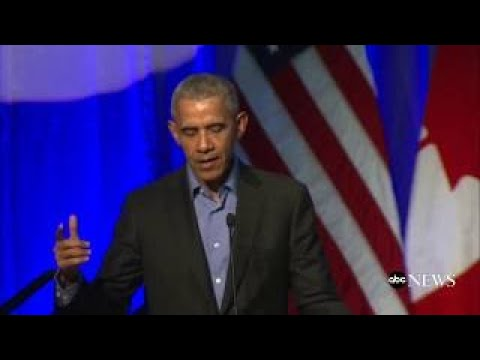 Former President Obama discusses climate change at summit with mayors from around the worl