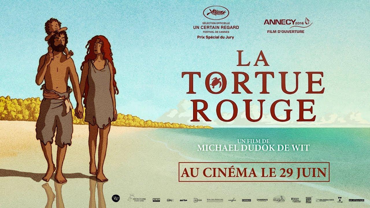 Αποτέλεσμα εικόνας για la tortue rouge (2016)