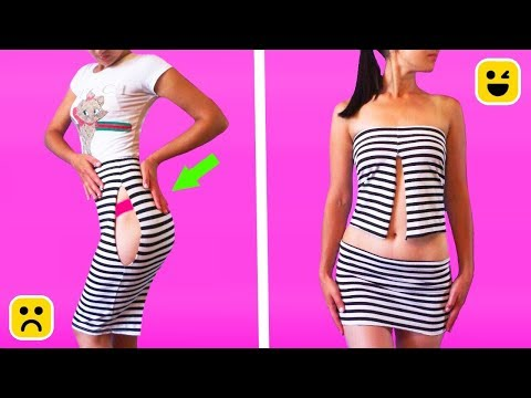 Get Good Vibes With Our Super Cool DIY Clothing Hacks & DIY Crafts by Prinkl One