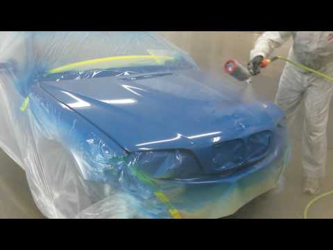 2004 BMW M3 E46 | CLEARCOAT FAILURE REPAIR LAGUNA SECA BLUE PART 3 OF 5