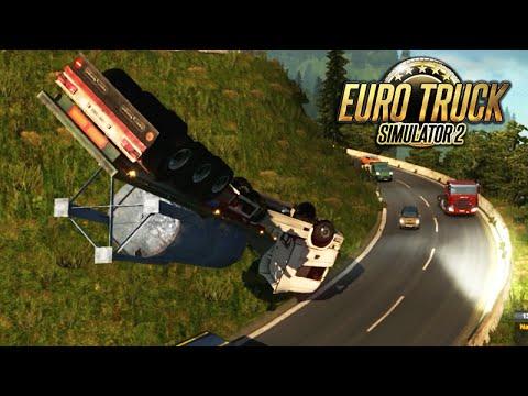 Euro Truck 2 Com Lipão Encontramos Um Cara Mais Rápido