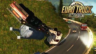 Euro Truck Simulator 2: MEGA ACIDENTE e MAPA BRASILEIRO!