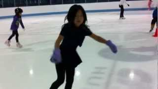 Daniel yen and Je on the ice