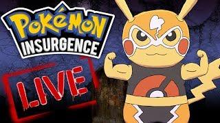 OSTATNI TRENING! - Pokemon Insurgence [STREAM] - Na żywo