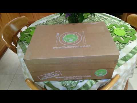 Hello Fresh Healthy Food Delivery | Scatty C