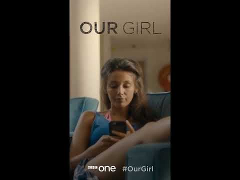 Georgie Lane takes over your phone: Our Girl - BBC One