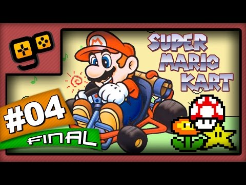 Let's Play: Super Mario Kart - Parte 4[FINAL] - Special Cup