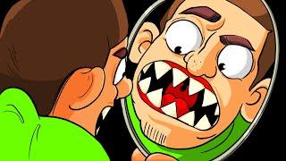 E Se Você Acordasse Com Dentes De Piranha?
