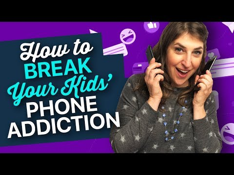 Breaking Your Kid's Phone Addiction || Mayim Bialik