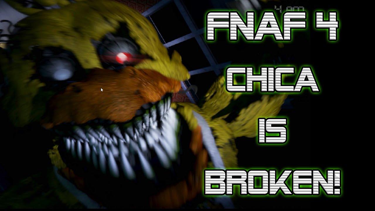 Night 1 - CHICA IS SO BROKEN RAGE QUIT - FNAF 4 Gameplay ... | 1280 x 720 jpeg 98kB
