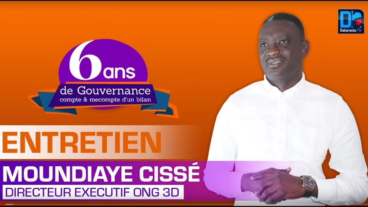 6ans de Gouvernance Moundiaye Cissé