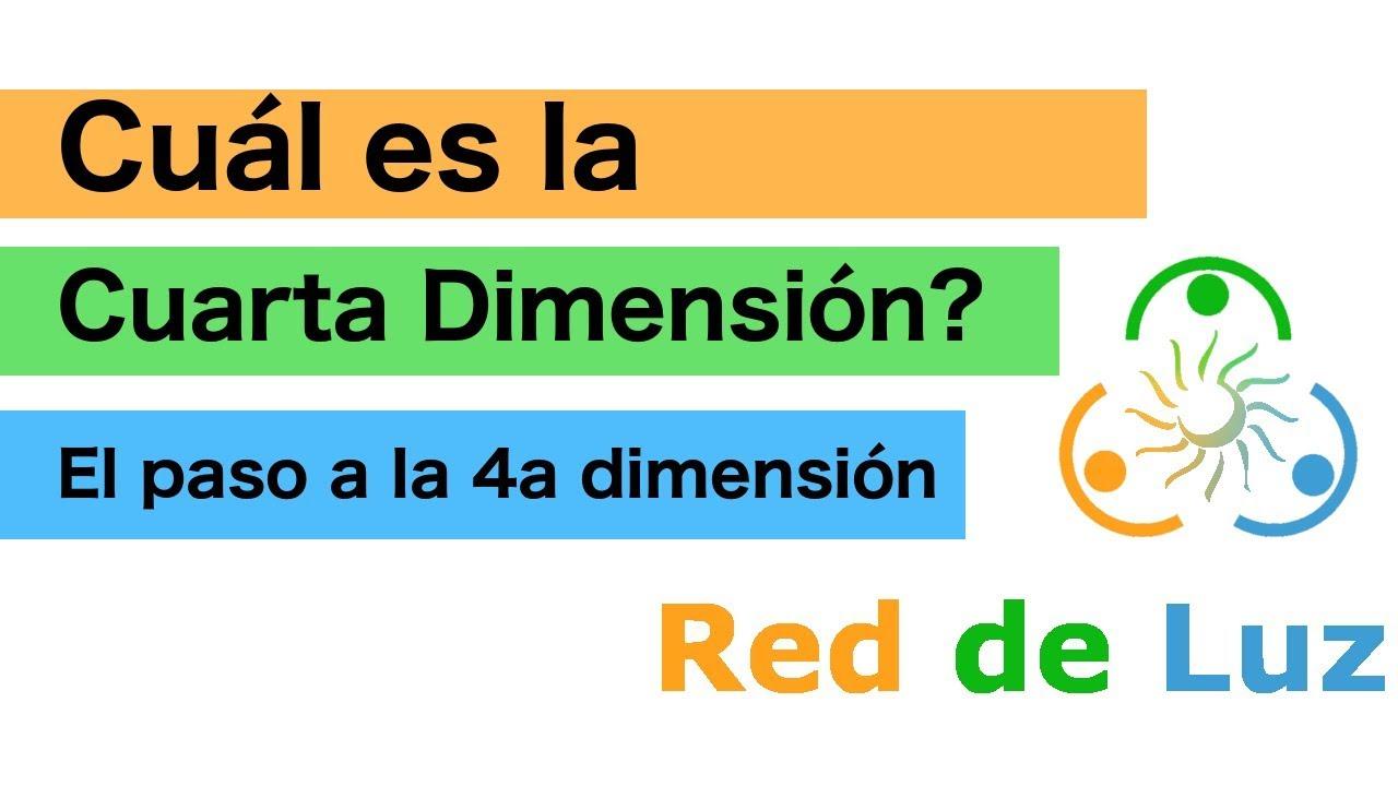 Cuál es la Cuarta Dimensión? - El paso a la cuarta dimensión - YouTube