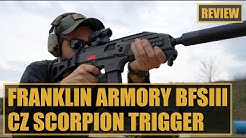 Franklin Armory BFSIII CZ Scorpion Binary Trigger Review: Double the Pleasure, Double the Cost