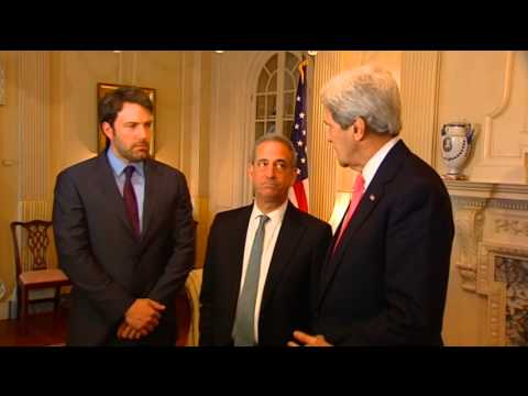 Secretary Kerry, Special Envoy Feingold Meet With Eastern Congo Initiative Founder Ben Affleck