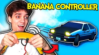 I Made A Game Controlled By A Banana