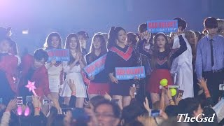 [4k Fancam/직캠]150920 레드벨벳(Red Velvet) 엔딩 2@경주 한류드림콘서트