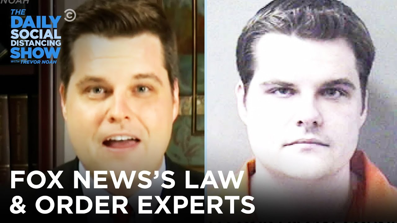 Fox News's Law & Order Experts | The Daily Social Distancing Show