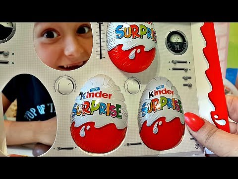 Киндер Сюрприз самолёты Аэробус обзор коллекции  Airbus Kinder Surprise toys