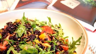 Rocket Salad With Black Rice :: Quick & Healthy