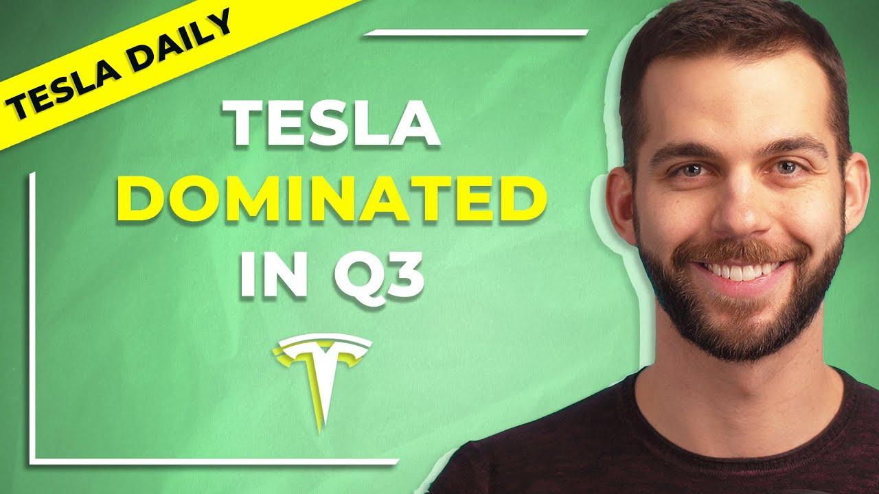 Why Tesla Dominated Q3 - TSLA Earnings Report Recap (Tesla Daily)