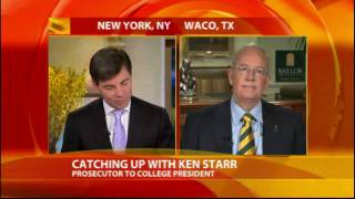 Ken Starr Controversy as Lewinsky Case Resurfaces