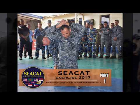SEACAT Exercise 2017- VBSS Workshop (DAY 1)