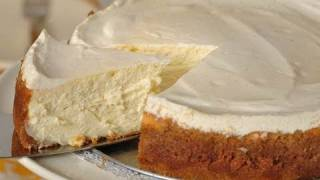 New York Cheesecake Recipe Demonstration - Joyofbaking.com