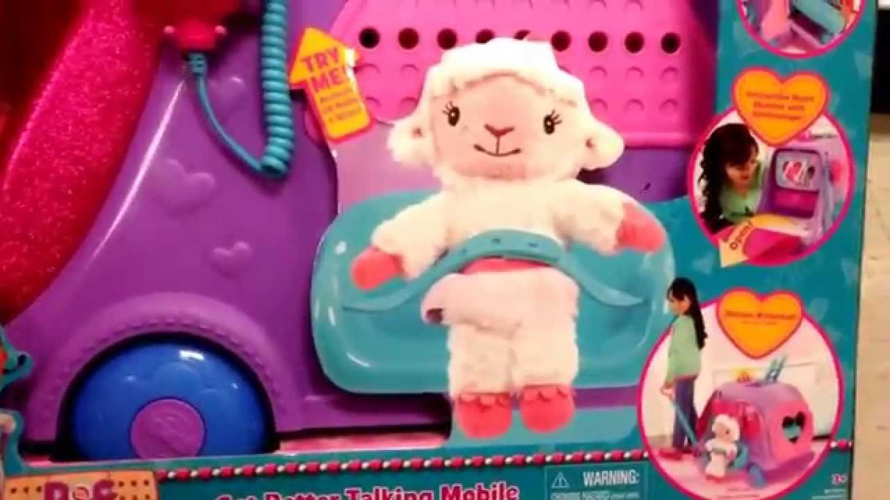 Doc Mcstuffins Quot Get Better Talking Mobile Quot Light Up Doctor