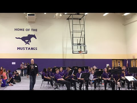 Marble Falls Middle School Veterans Day Presentation 2018