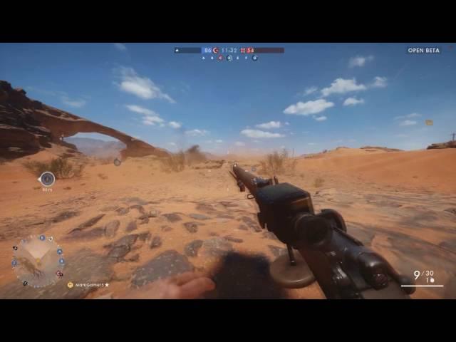 Battlefield 1 Jogando a BETA