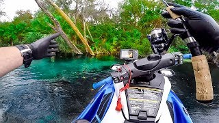 Exploring a Hidden Paradise While Diving and Fishing!! (Unbelievable)