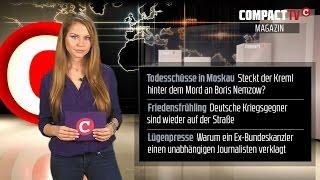 COMPACT-TV Magazin: Kugeln gegen Putin: Ein Mord, ein Krieg und die Friedensbewegung
