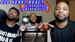 DADS REACT | MGK DISSES EMINEM (RAP DEVIL) | HE WANT ALL THE SMOKE !!
