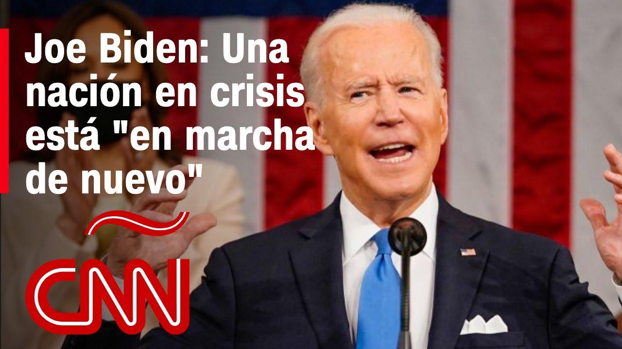 Primer discurso de Biden ante el Congreso: míralo completo en Español