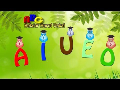 CARA CEPAT Belajar Membaca Huruf Vokal A-I-U-E-O