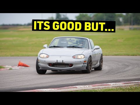 We're DISAPPOINTED With The BUDGET Miata (First Track Day)