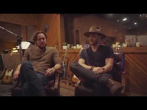 """Steve Carlson  & Jensen Ackles discussing the writing process of Radio Company's debut album """"Vol.1"""